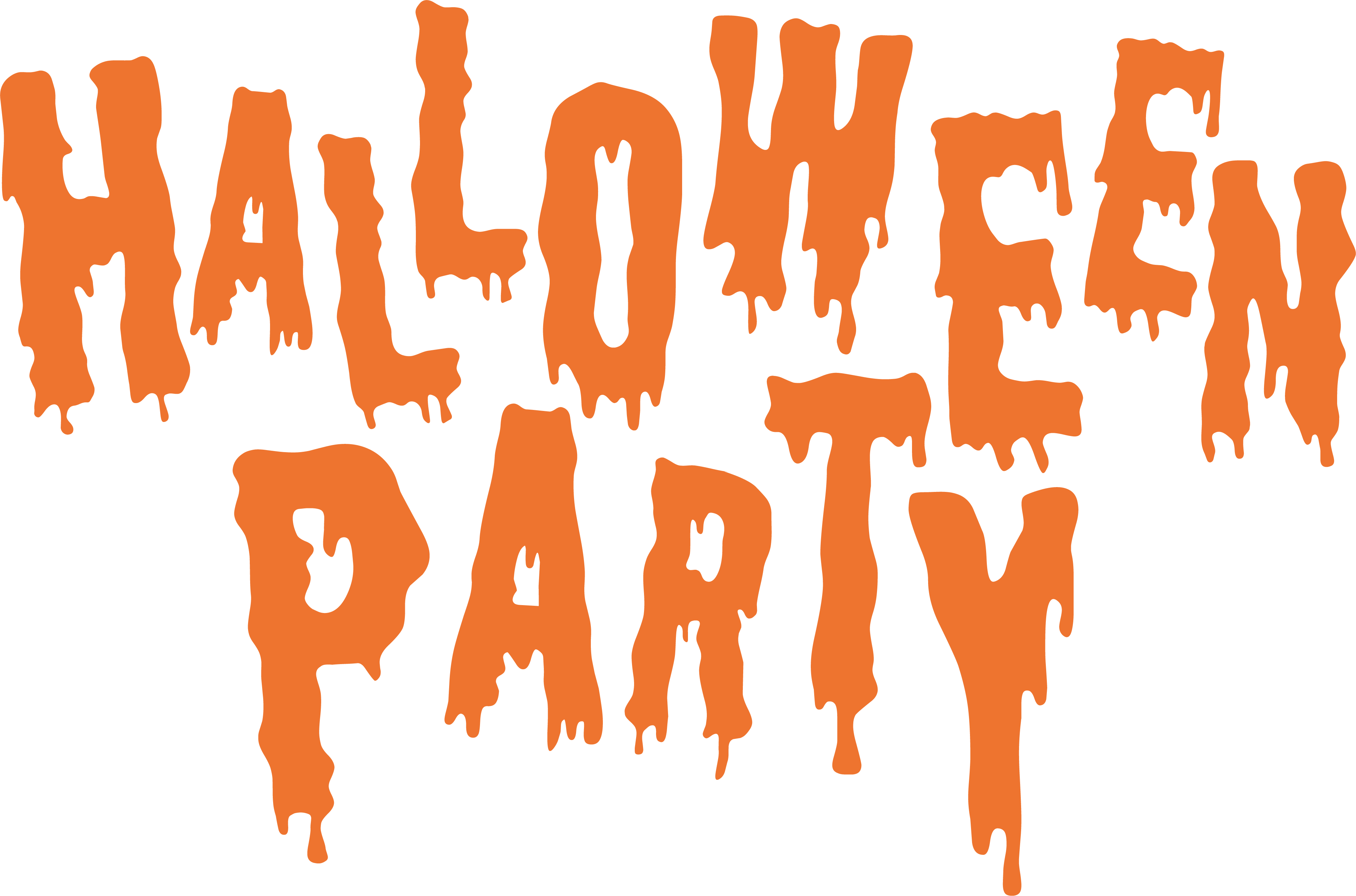 Party clip art bloody. Clipart halloween flyer