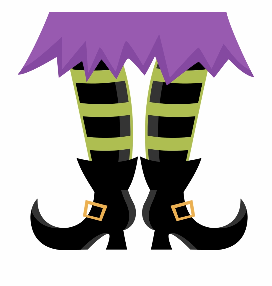 Clipart halloween foot. Feet witch shoes clip