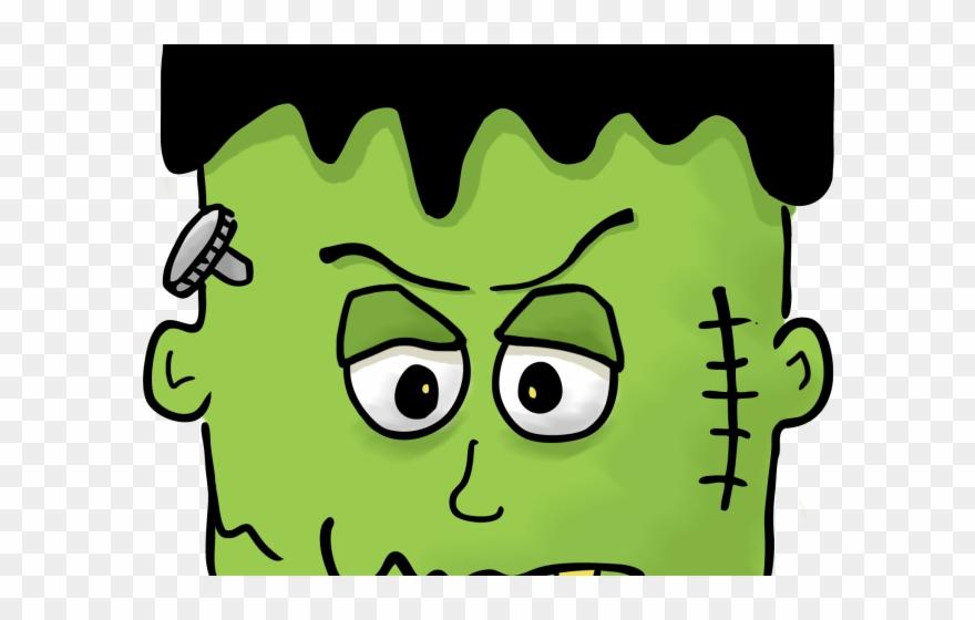 Frankenstein clipart pumpkin. Face clip art halloween