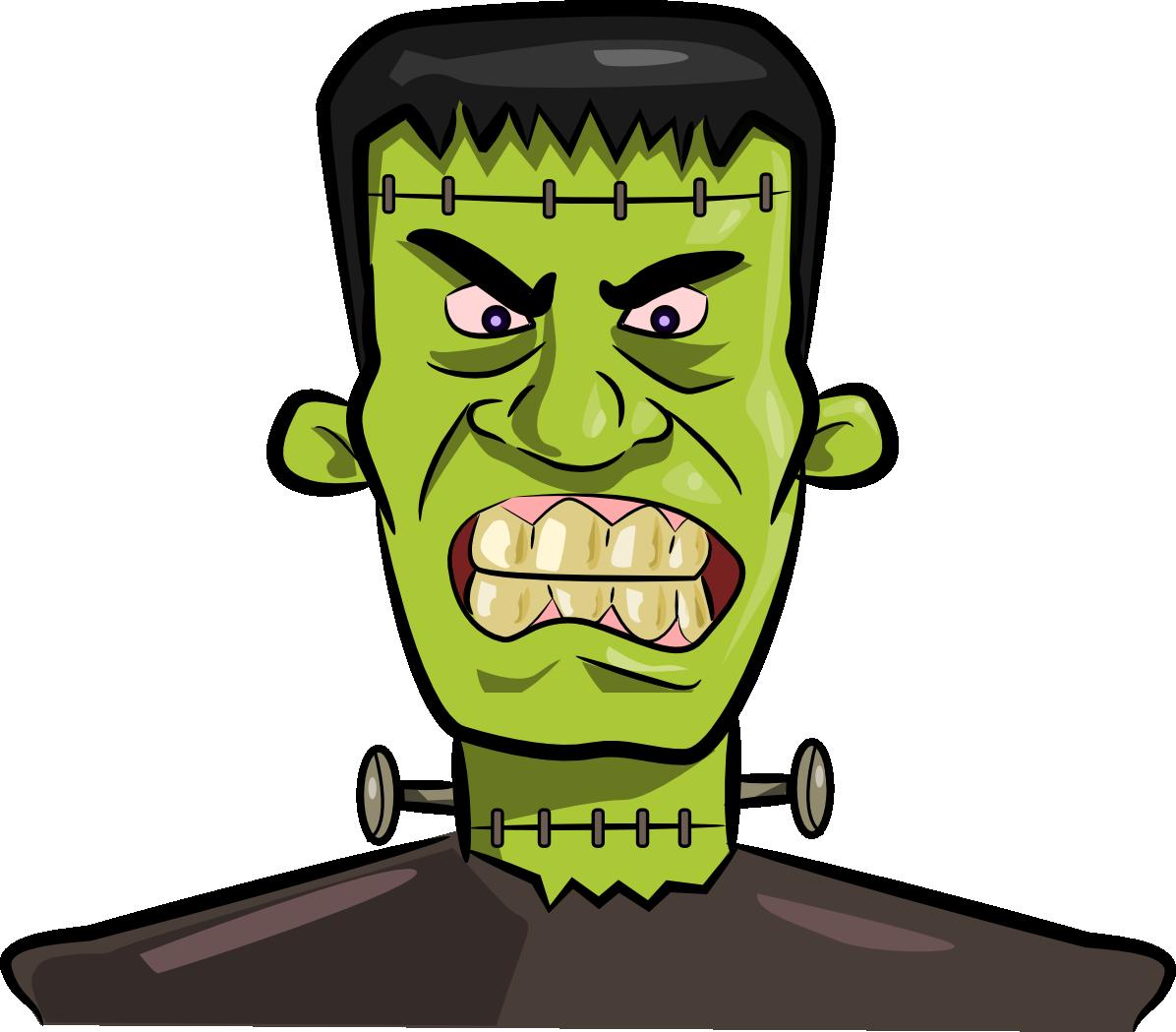 Want clipart kid. Halloween frankenstein clipartix
