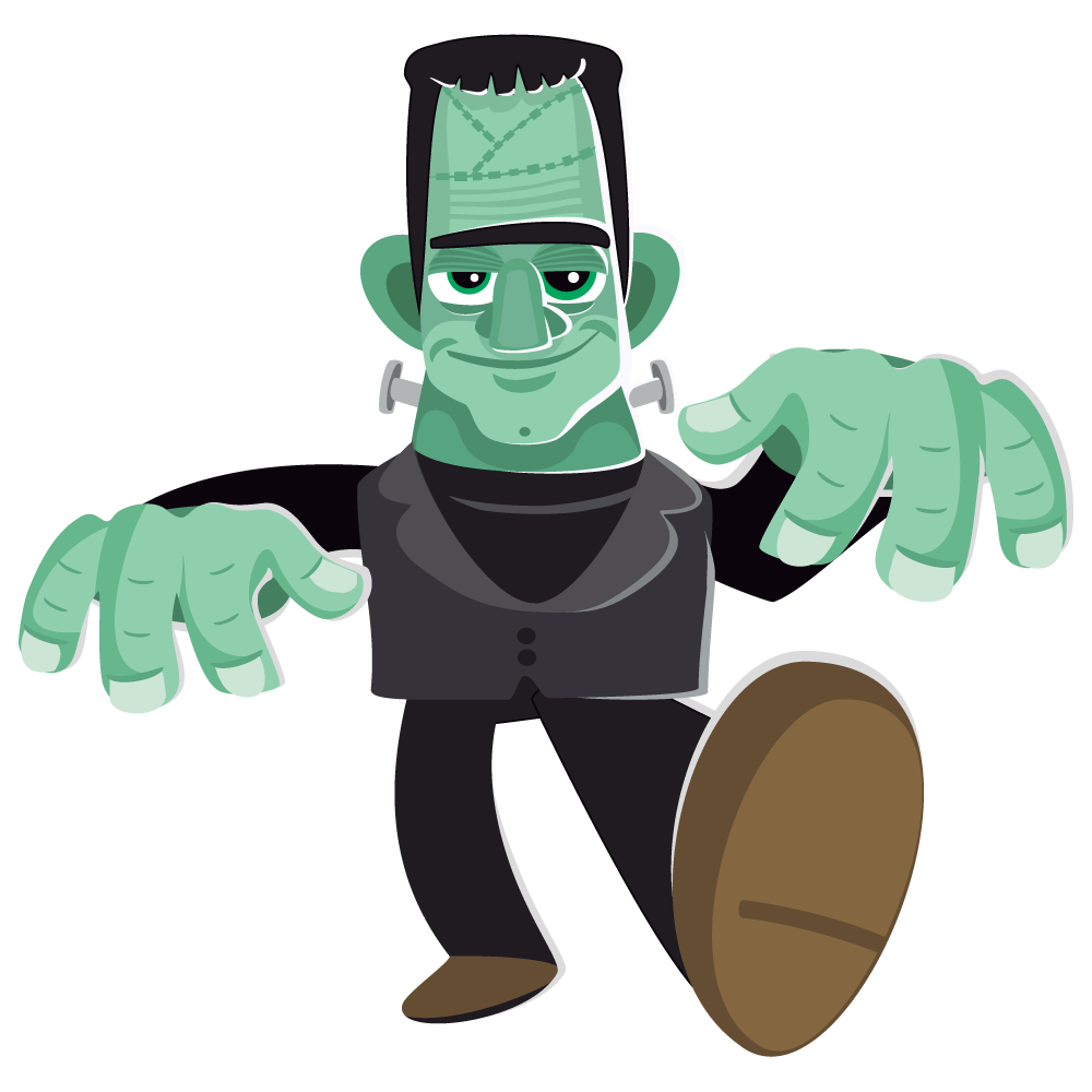 Stitch clipart frankenstein. Free to use clipartix