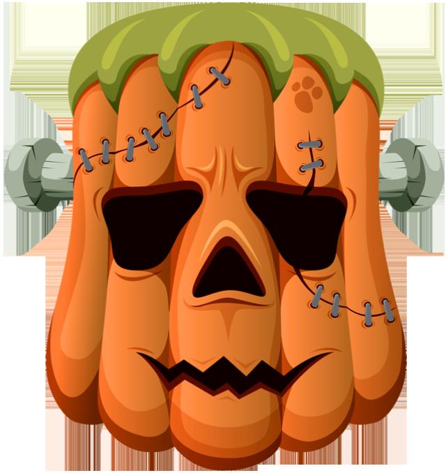 Halloween clip art jack. Frankenstein clipart vector