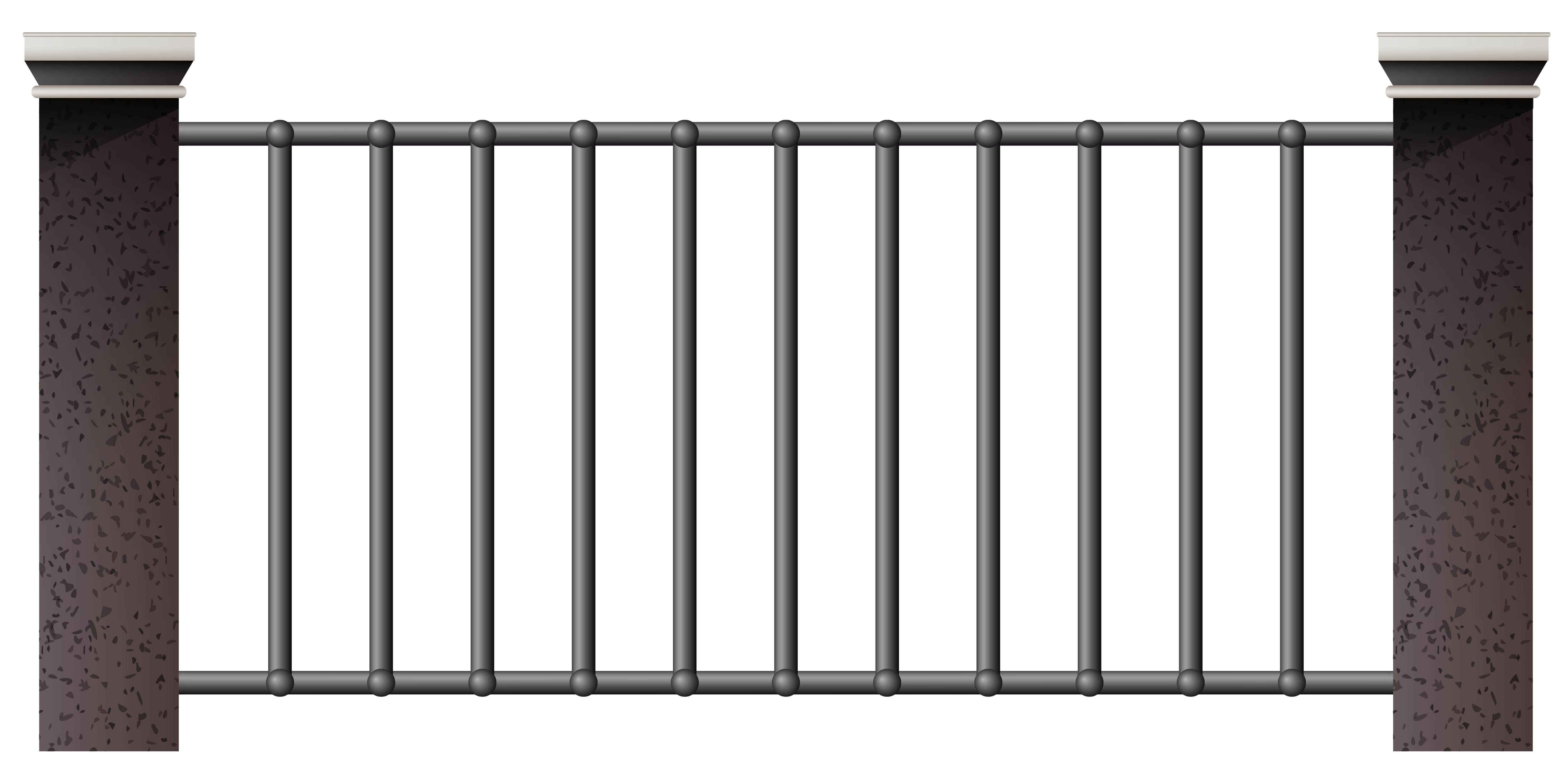 Iron fence png gallery. Fencing clipart house gate