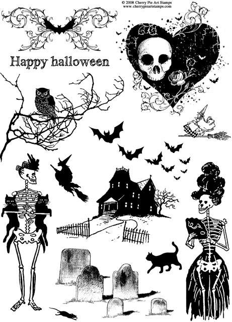 Clipart halloween gothic. Clip art arts for