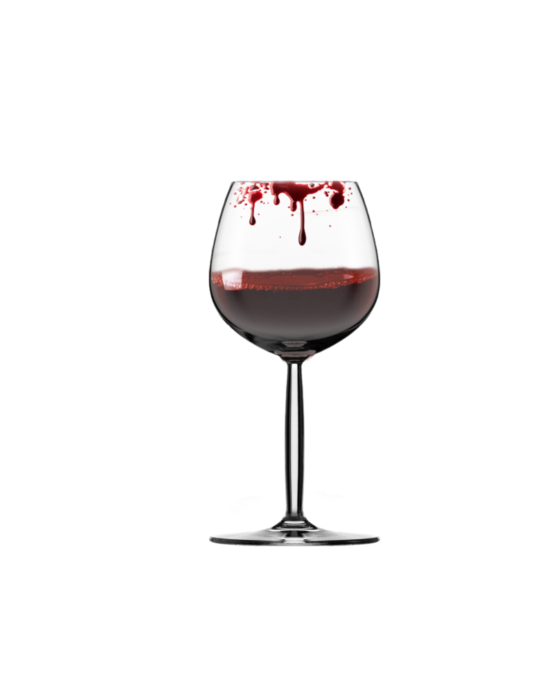 Clipart halloween gothic. Bloody glass by moonglowlilly