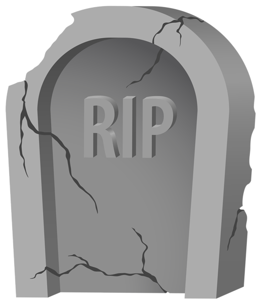Clipart halloween grave. Rip tombstone and purple