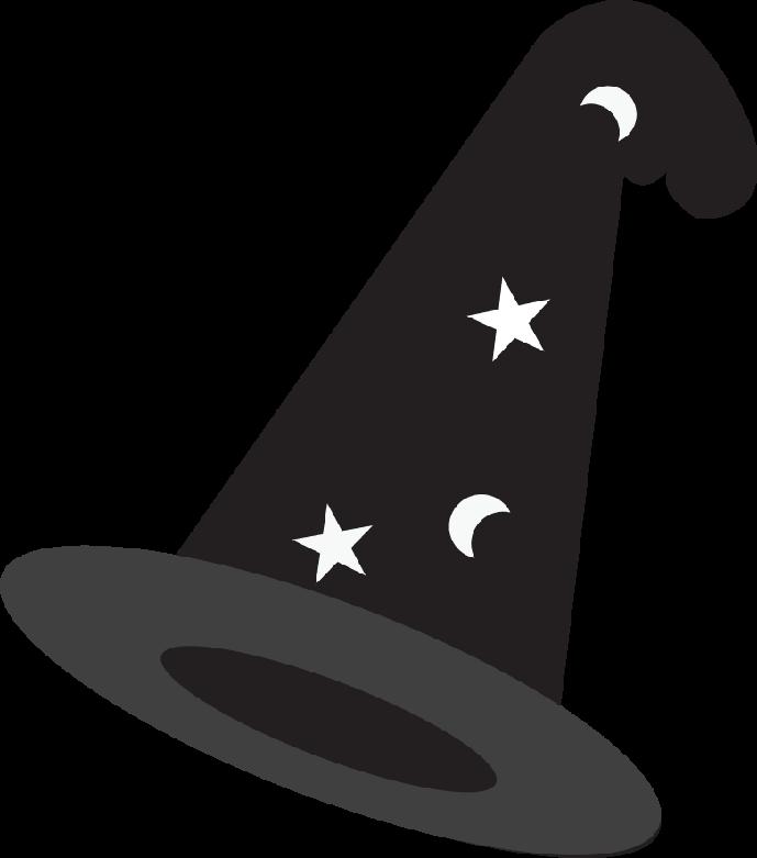 Minus monsters magician hatshalloween. Clipart halloween harry potter