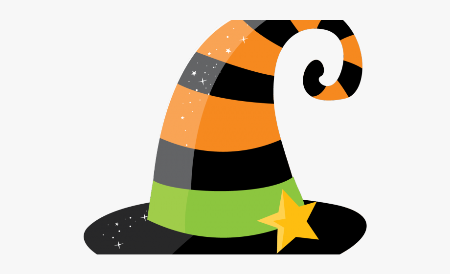 Witch clipart witch hat. Easy free halloween witches