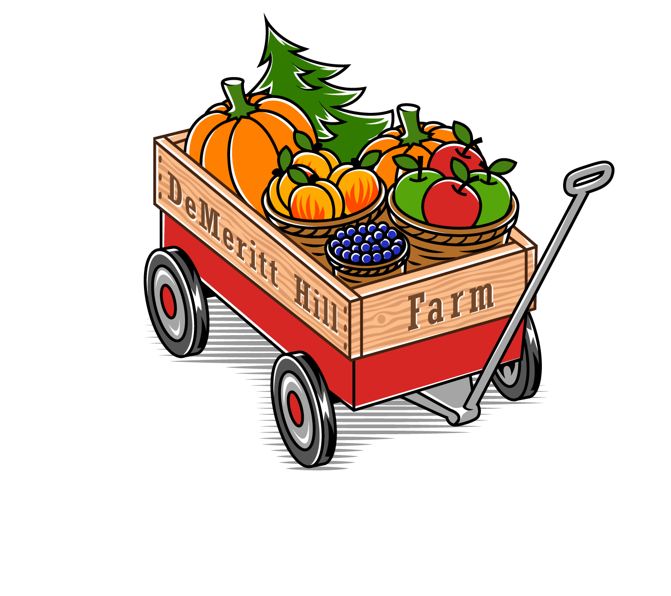 Haunted overload demeritt hill. Clipart halloween hayride