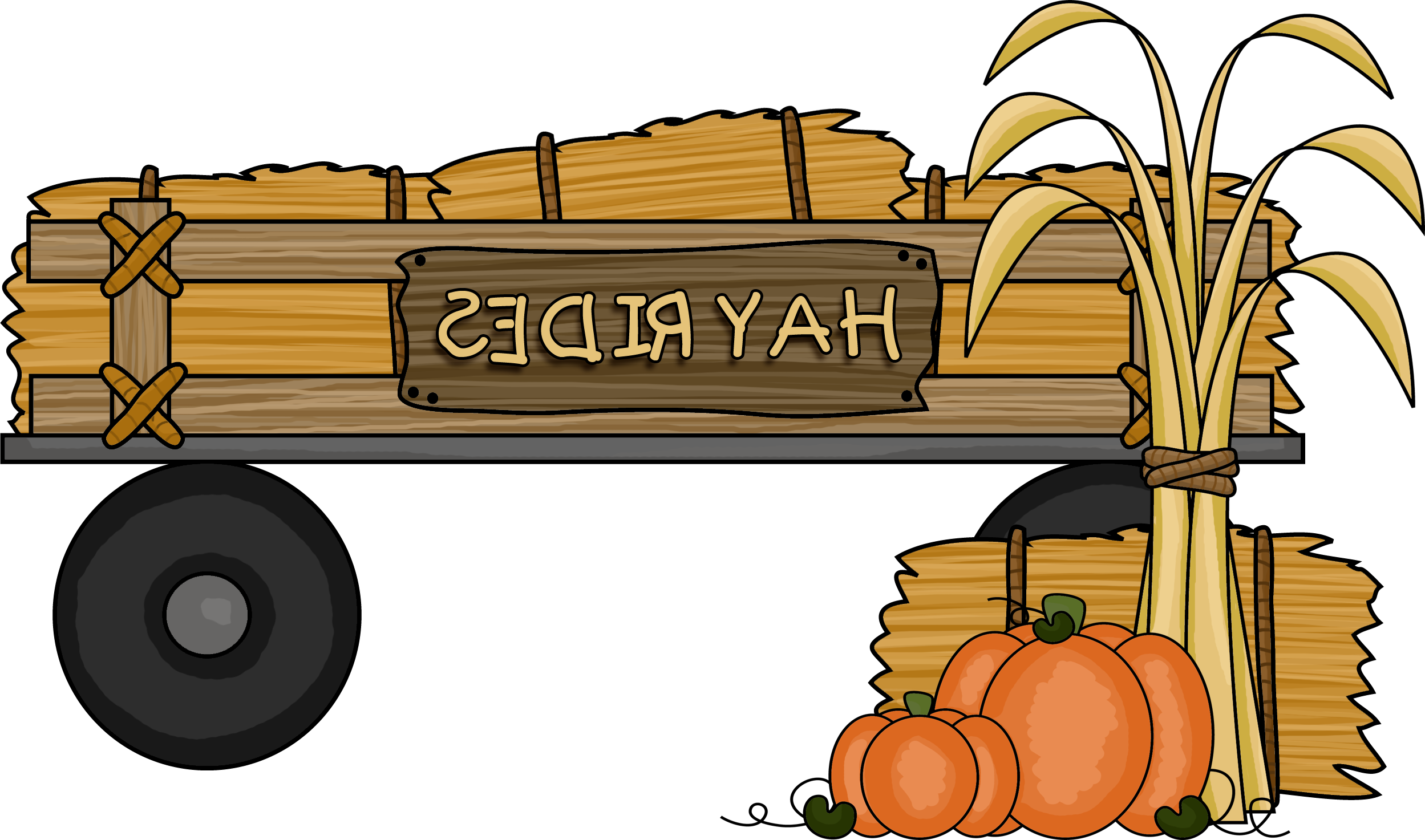 All about source many. Clipart halloween hayride