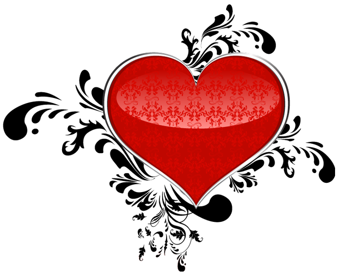 Red art png gallery. Clipart halloween heart