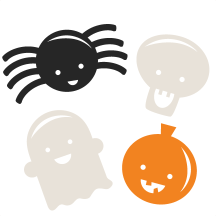 Clipart halloween icon. Icons scrapbook cut file