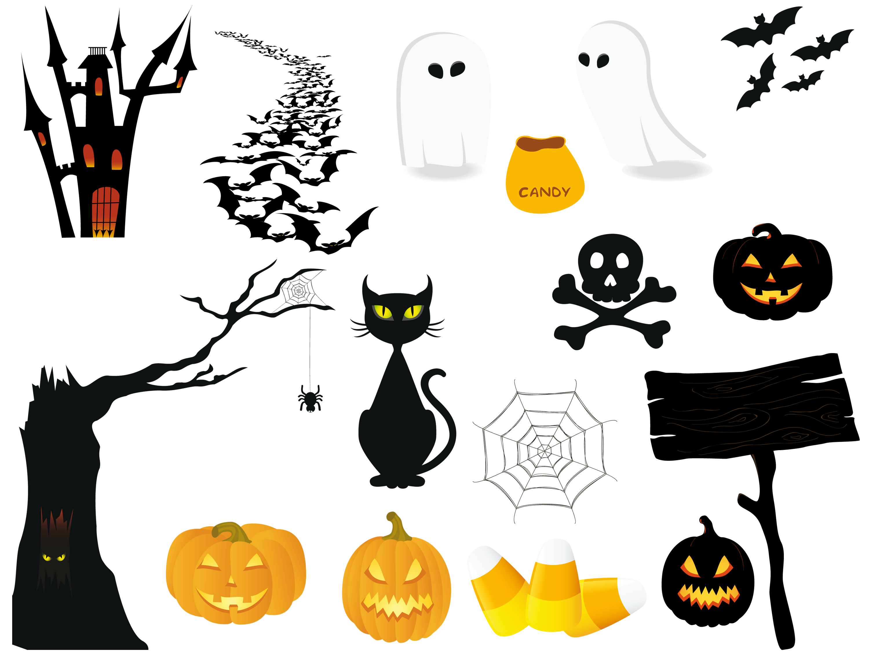 Halloween clipart icon. Png pictures collection gallery