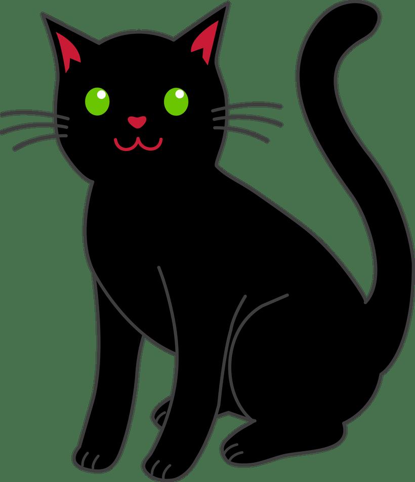 Clipart halloween kitty. Cat free bedwalls co