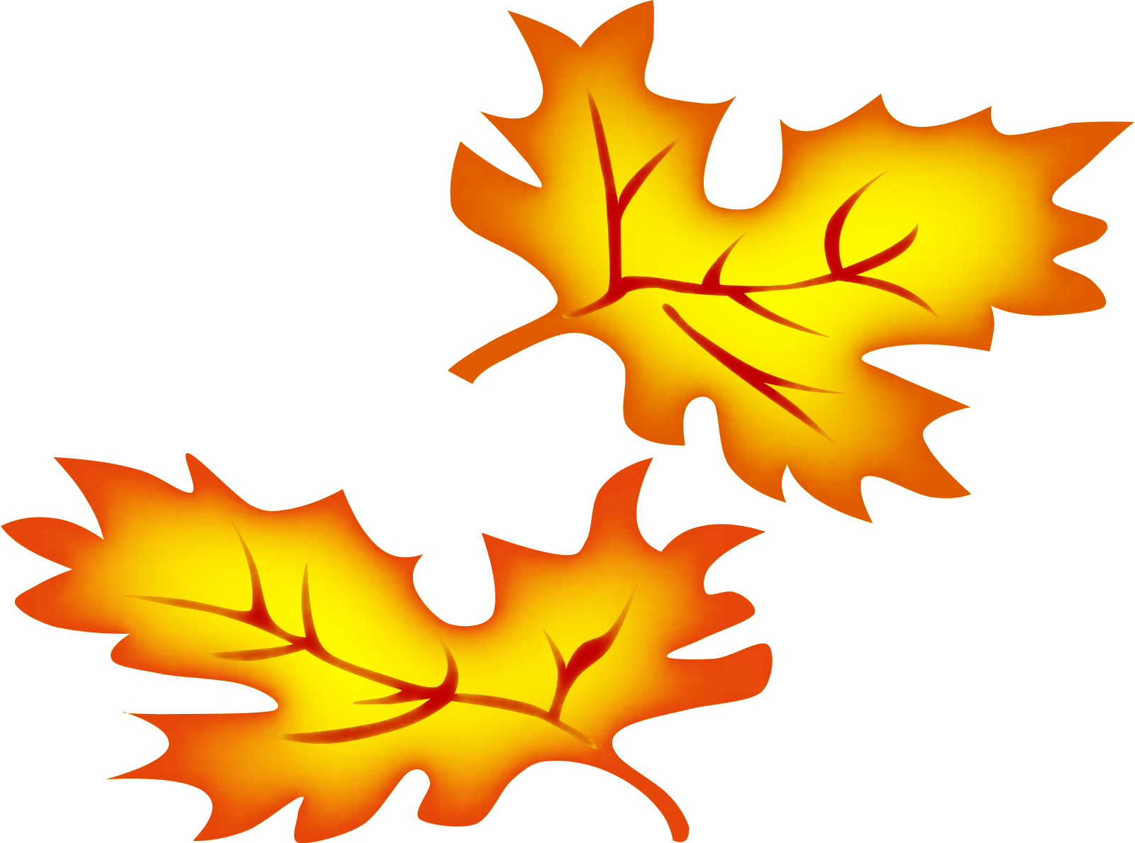 Pumpkin leaf clip art. Clipart halloween leaves