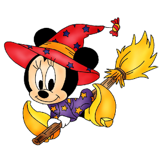 Witch clipart minnie mouse. Halloween clip art