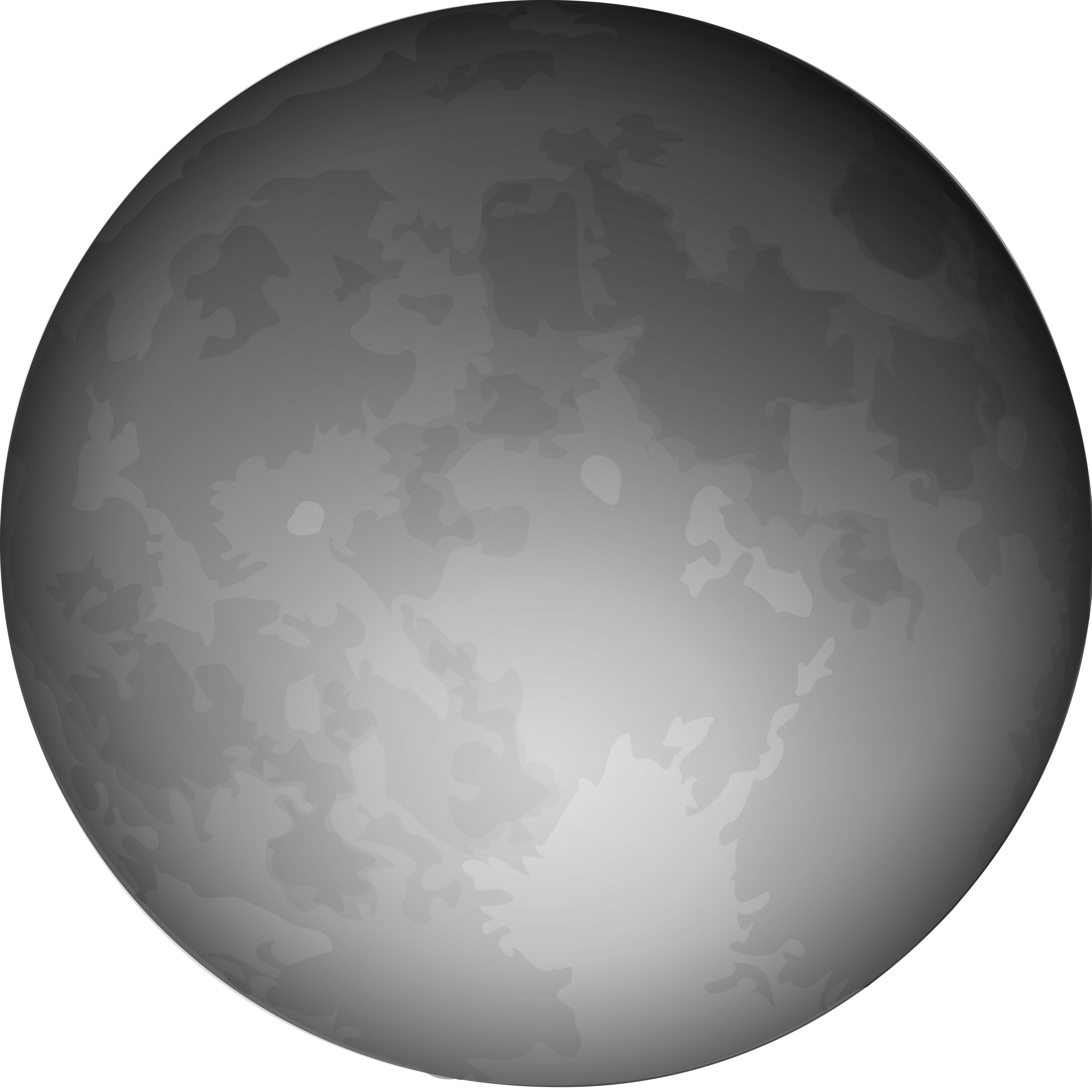 collection of scary. Clipart halloween moon