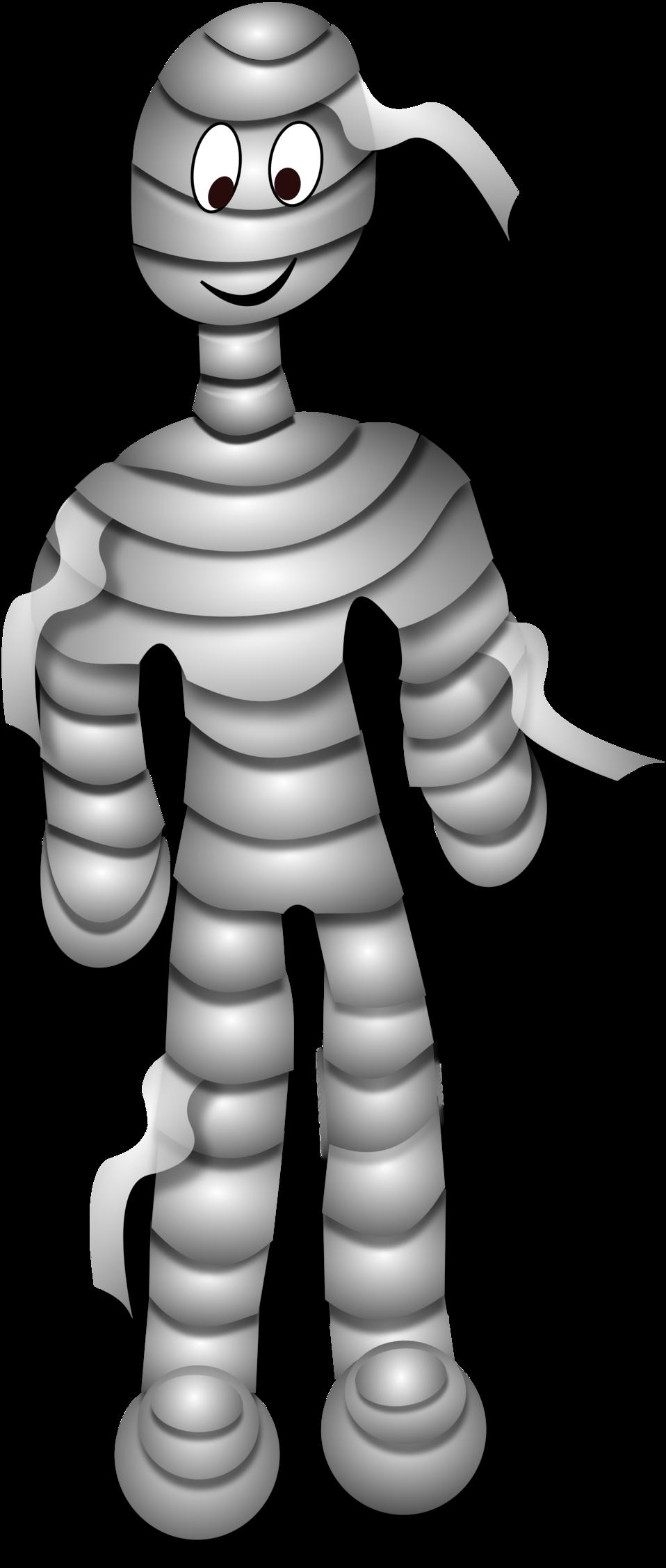 Public domain clip art. Clipart halloween mummy