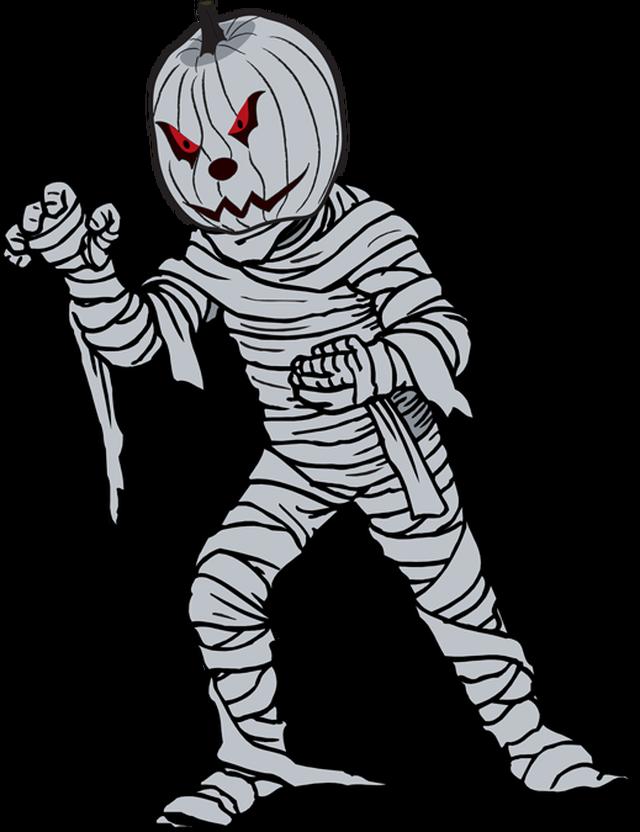 Great clip art for. Clipart halloween mummy