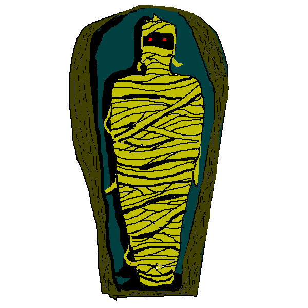 Friendly clipart mummy. Cute halloween clip art