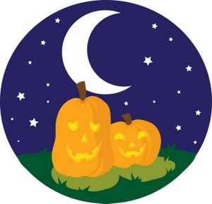 Clip art arts for. Halloween clipart night