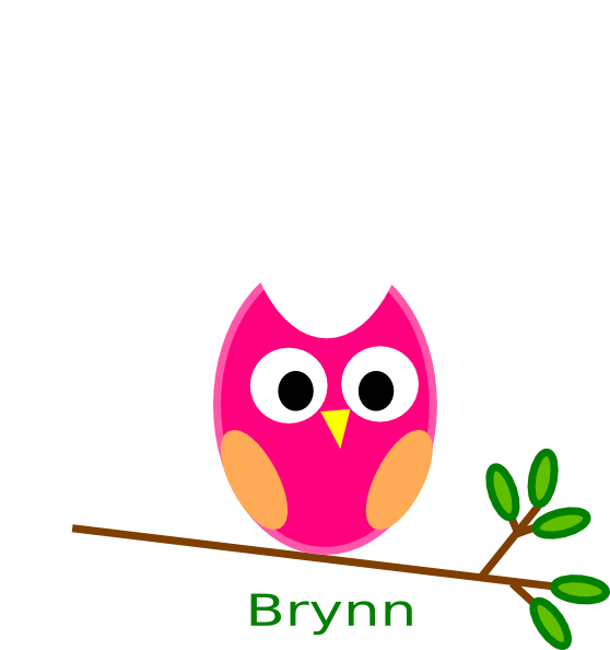 Tree clipart owl. Brynn clip art at