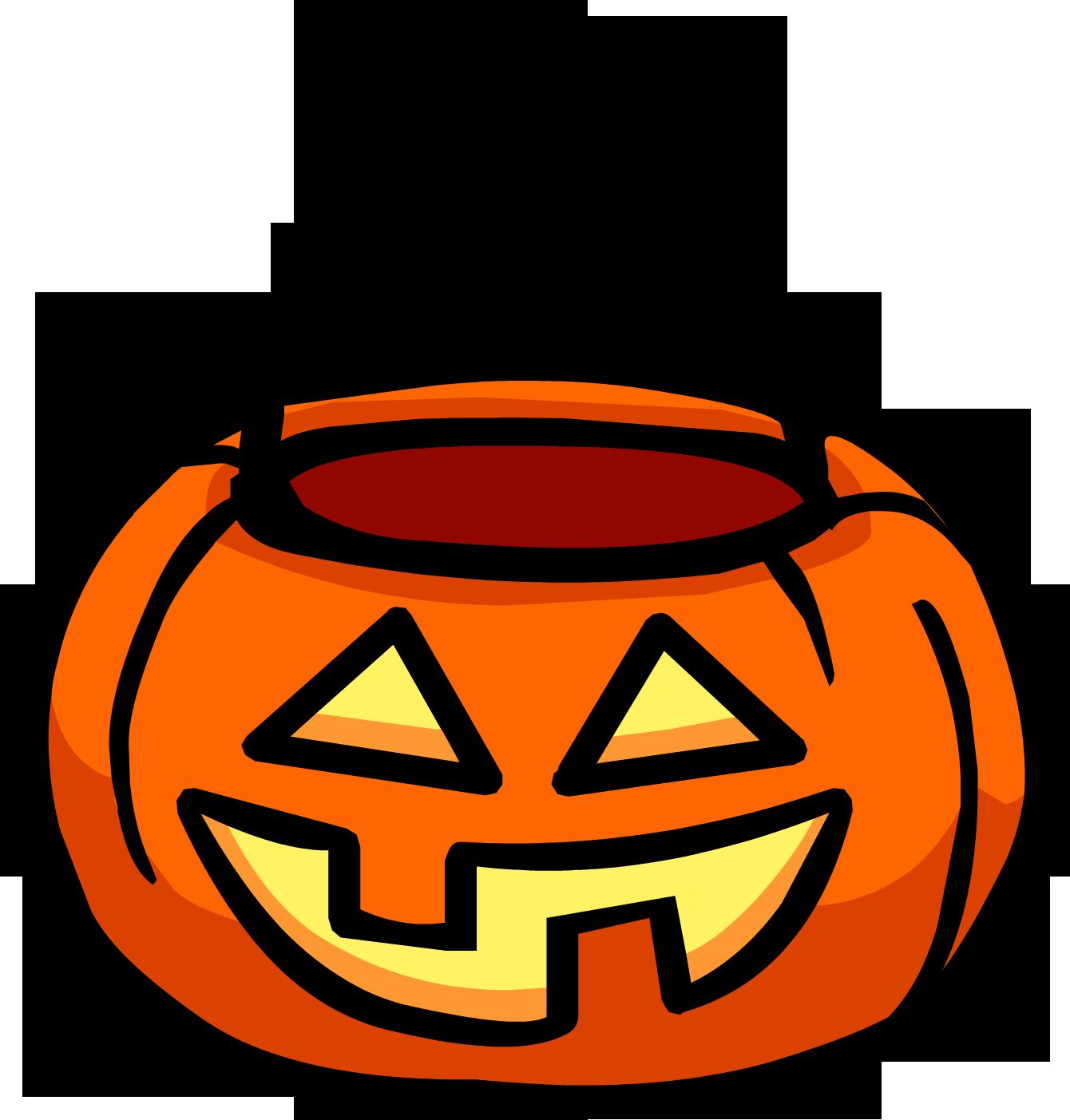 Pumpkin basket club rewritten. Clipart halloween penguin