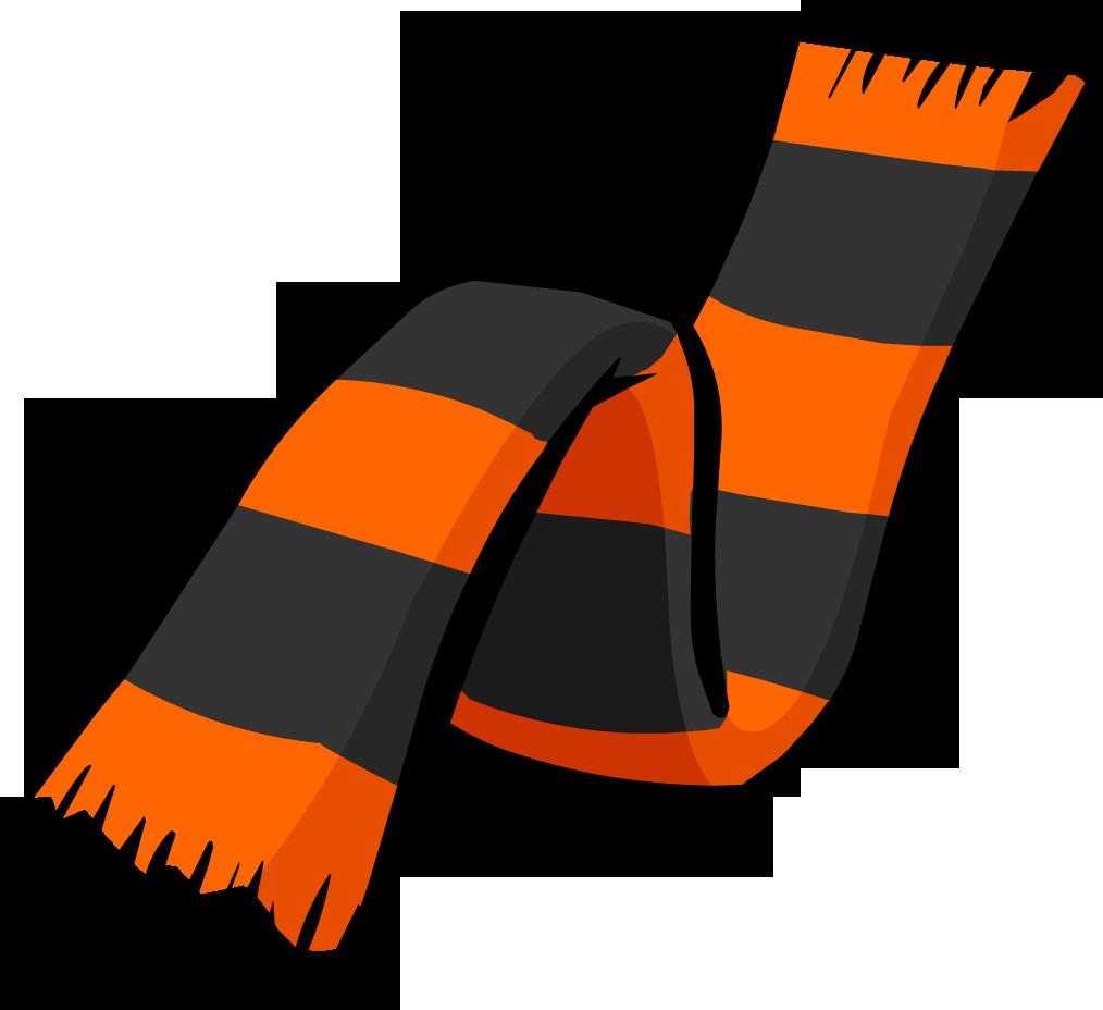 Halloween club penguin rewritten. Clipart hat scarf
