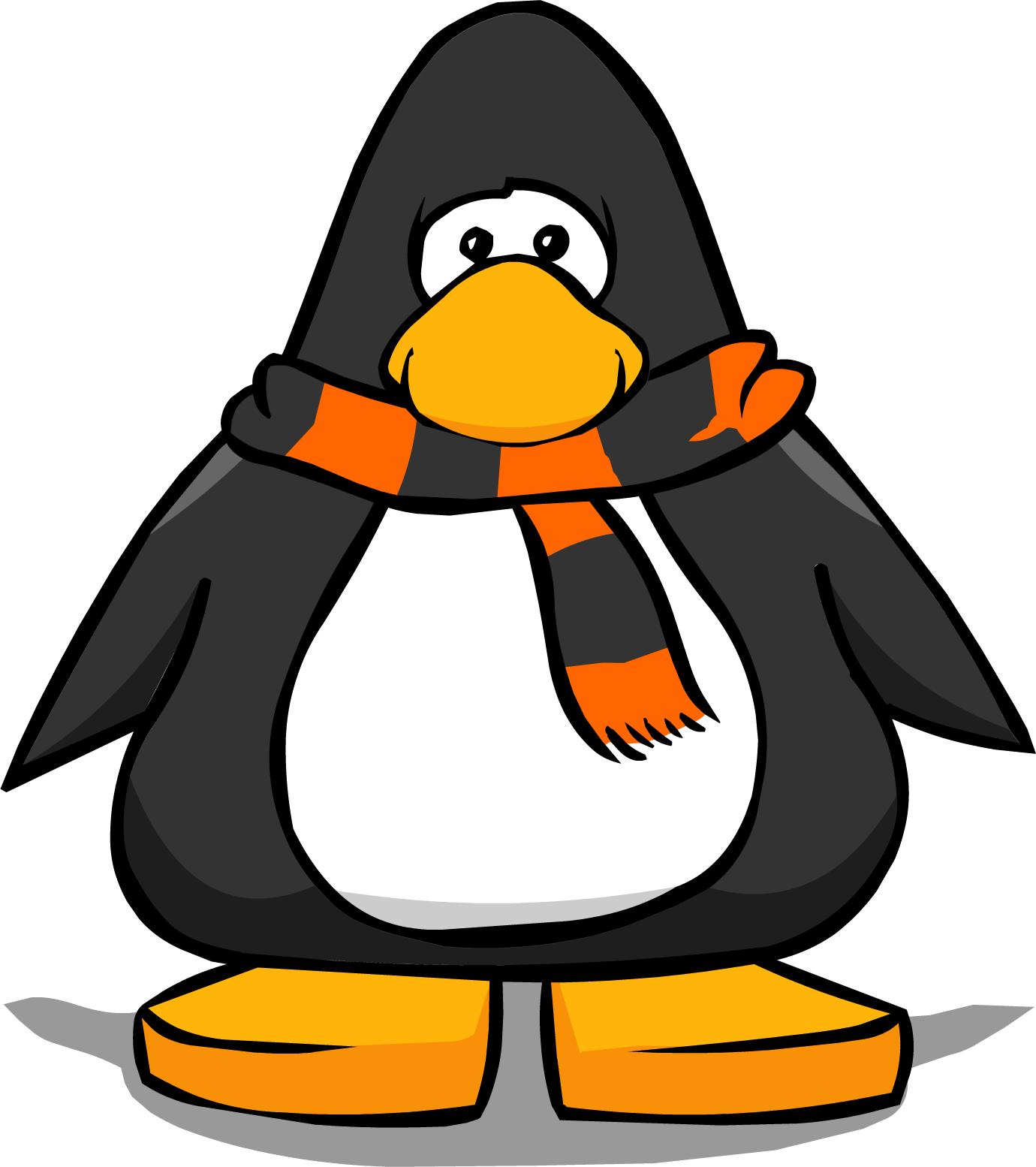 Clipart halloween penguin. Image scarf pc png