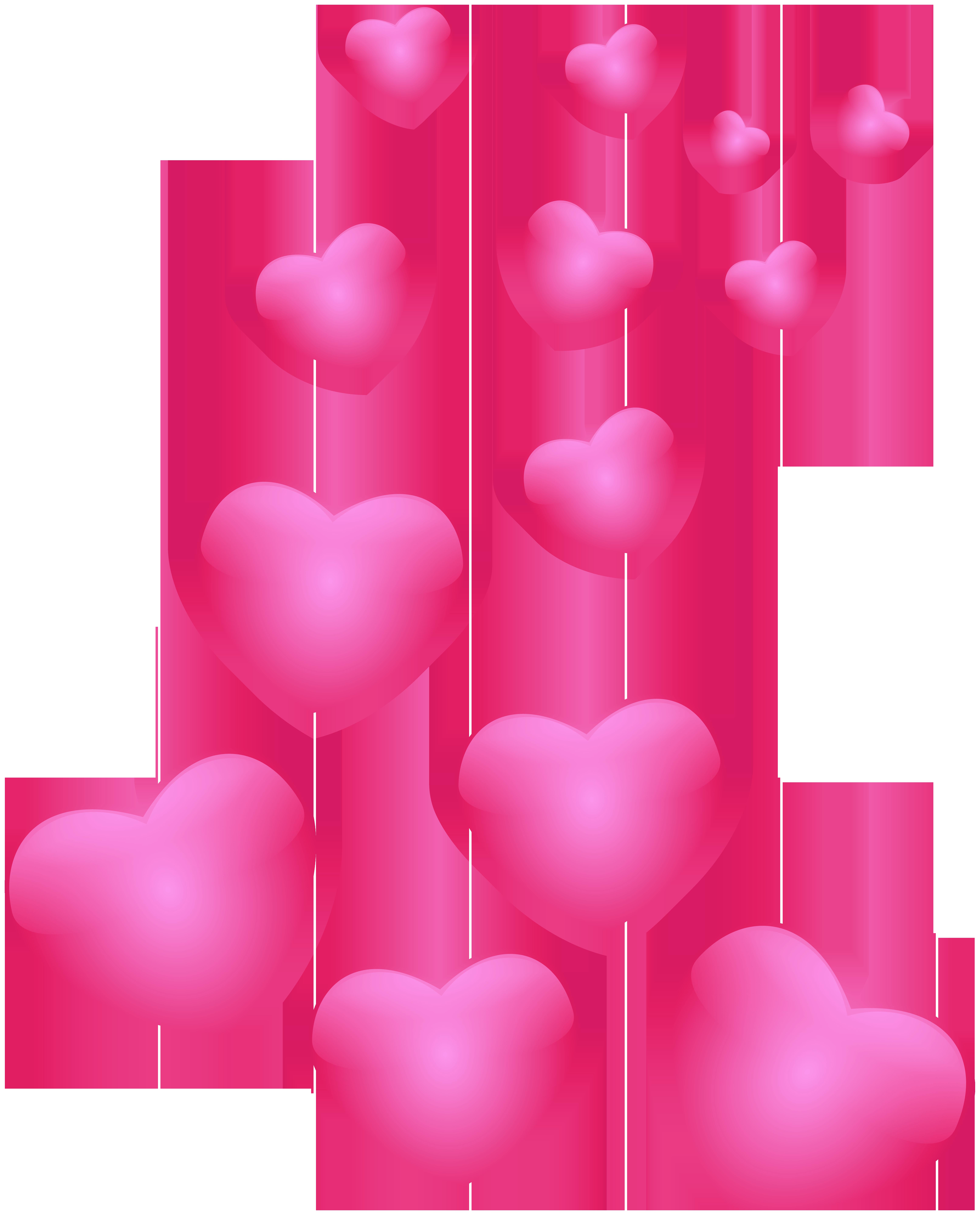Pink png clip art. Clipart hearts halloween