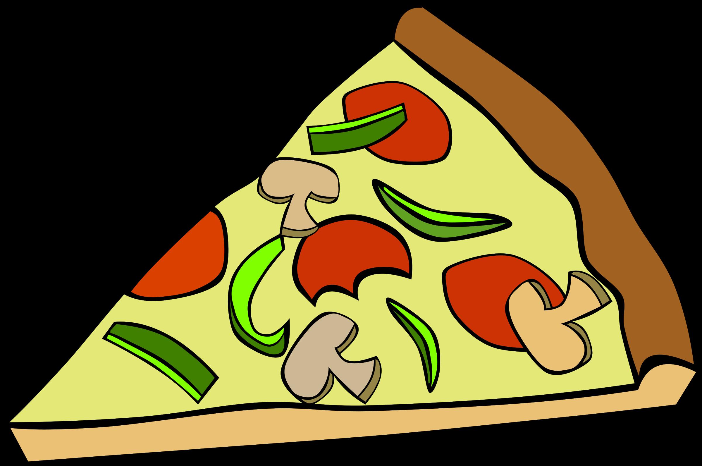 Nutrition clipart triangle. Pizza slice clip art