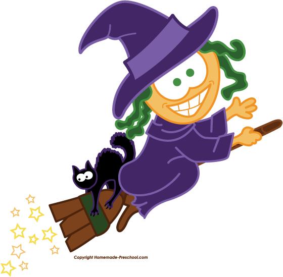 Clipart halloween preschool. Free