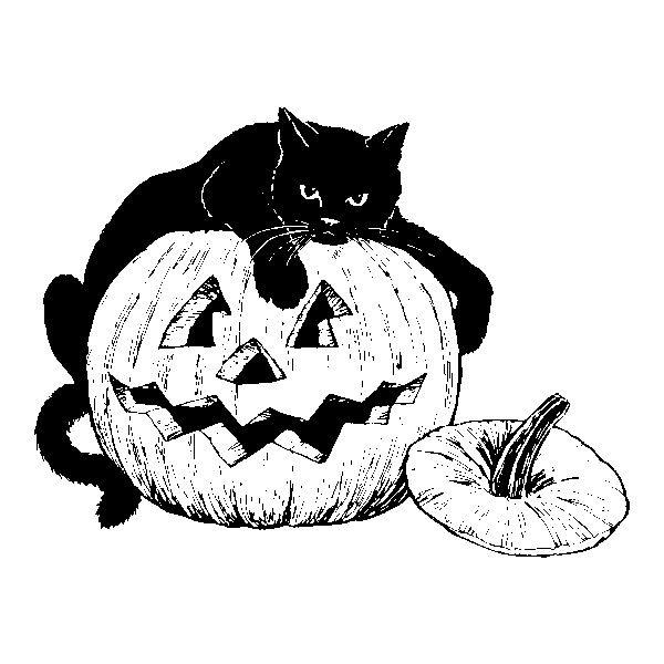 Free pumpkins . Clipart halloween public domain
