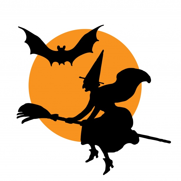 Witch broomstick free stock. Clipart halloween public domain