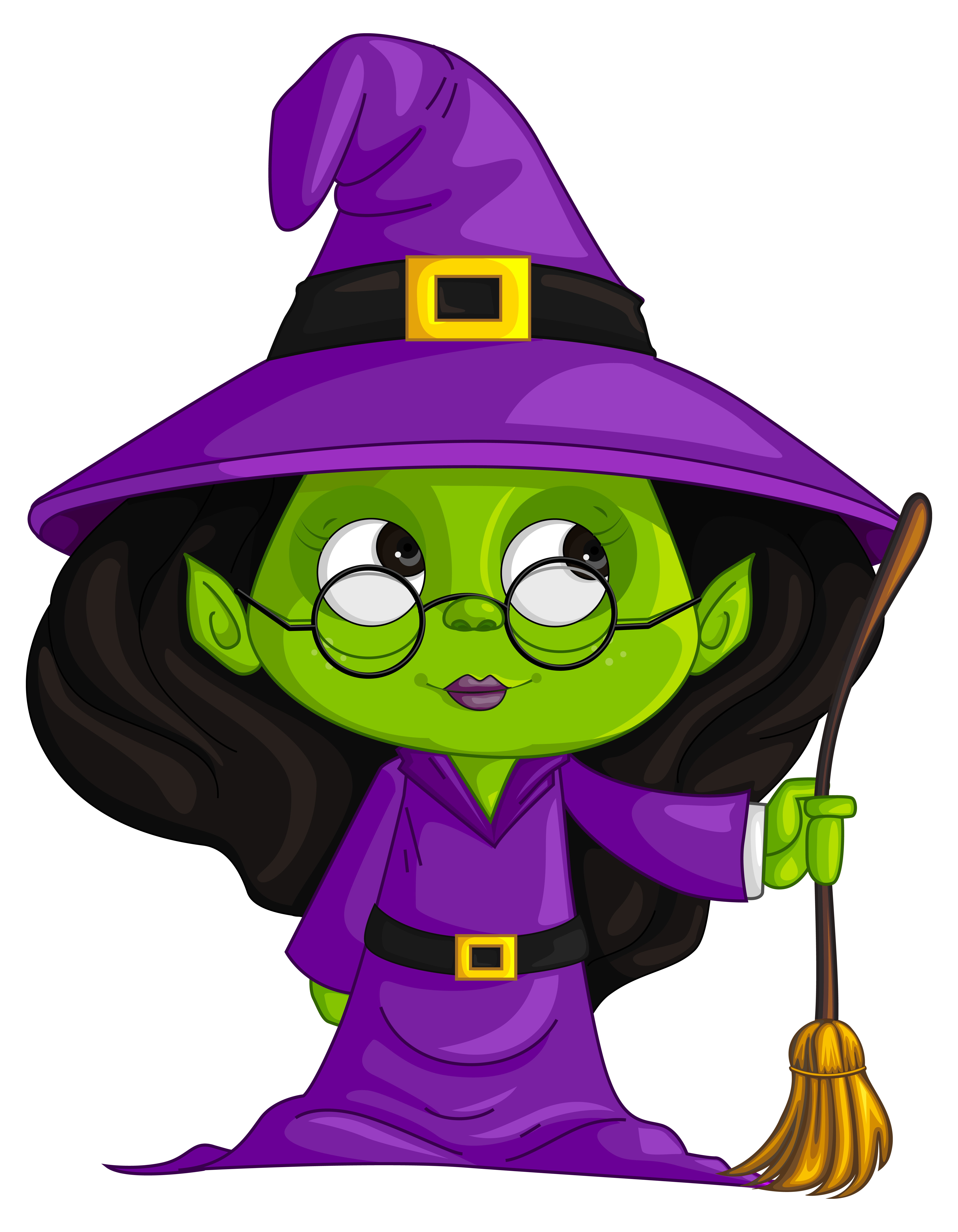 Witch png image gallery. Clipart halloween purple