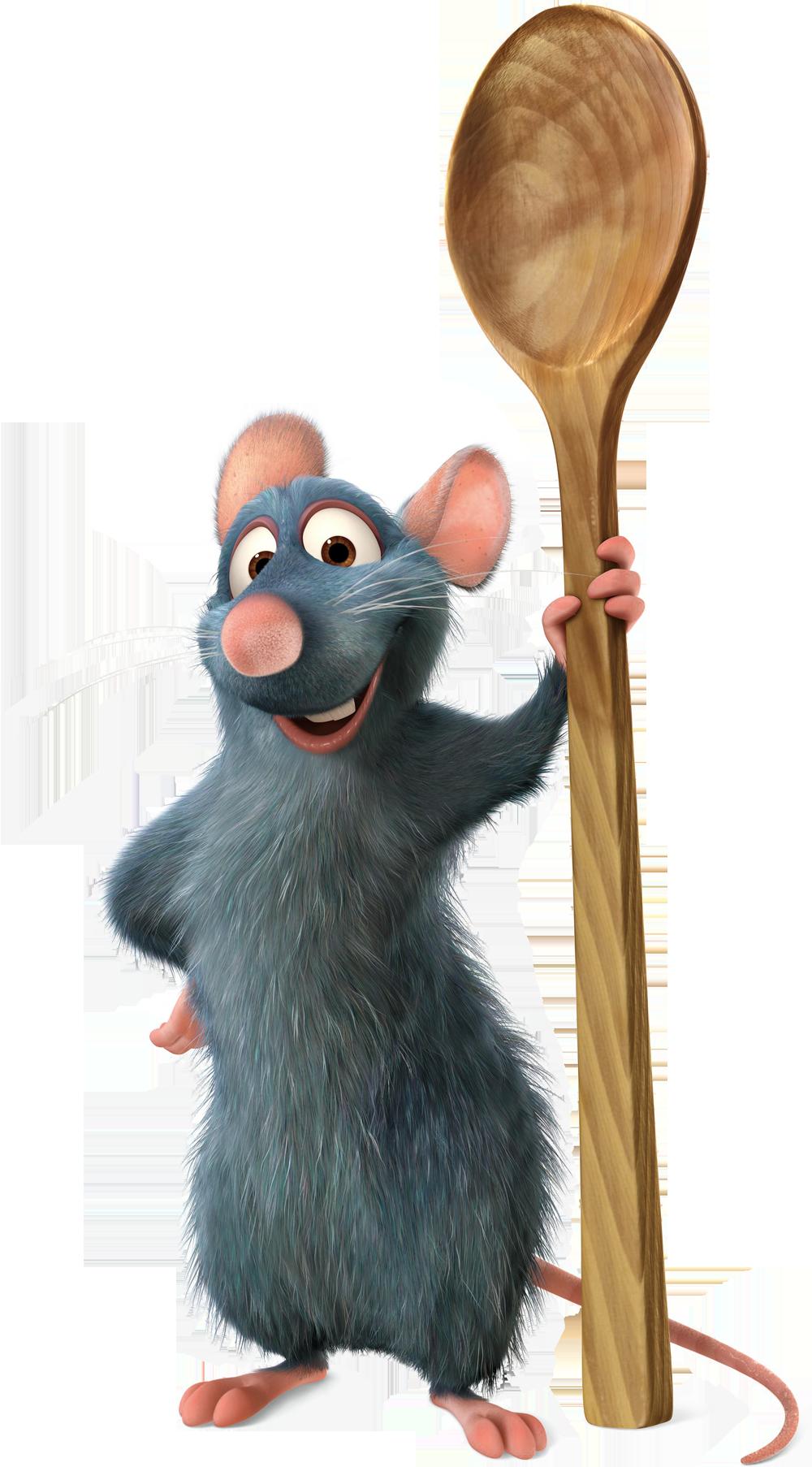 Ratatouille png free picture. Clipart rat flower