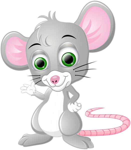 Mouse cartoon png clip. Clipart rat christmas
