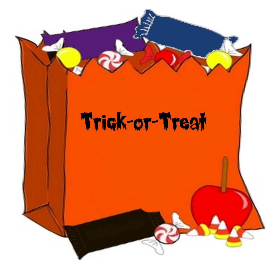Halloween clipart treat. Have a happy and