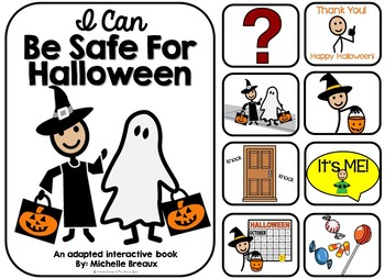 Clipart halloween safety. Adapted book trick or