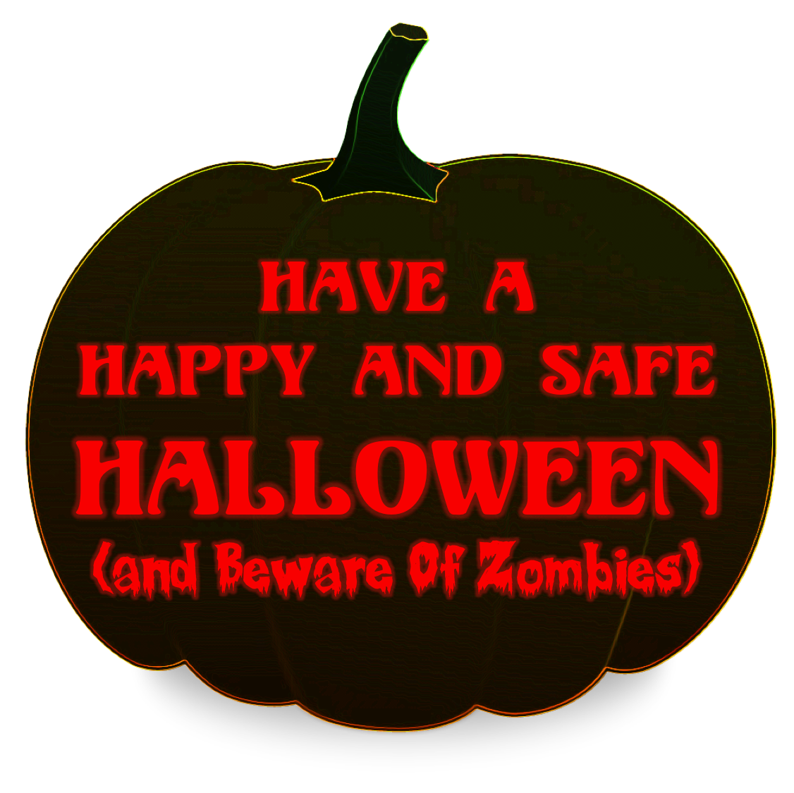 Clipart halloween safety. Have a happy and