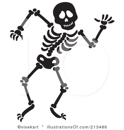 clipartlook. Clipart halloween skeleton