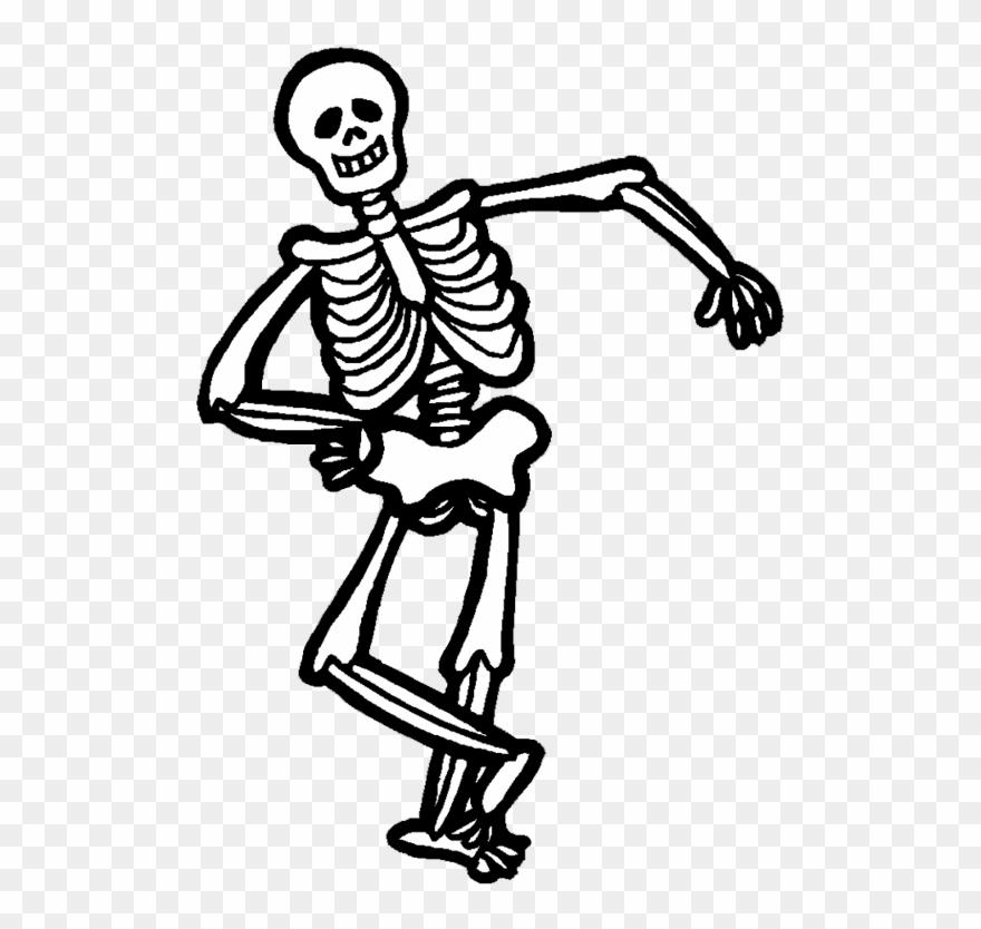 Pictures . Clipart halloween skeleton