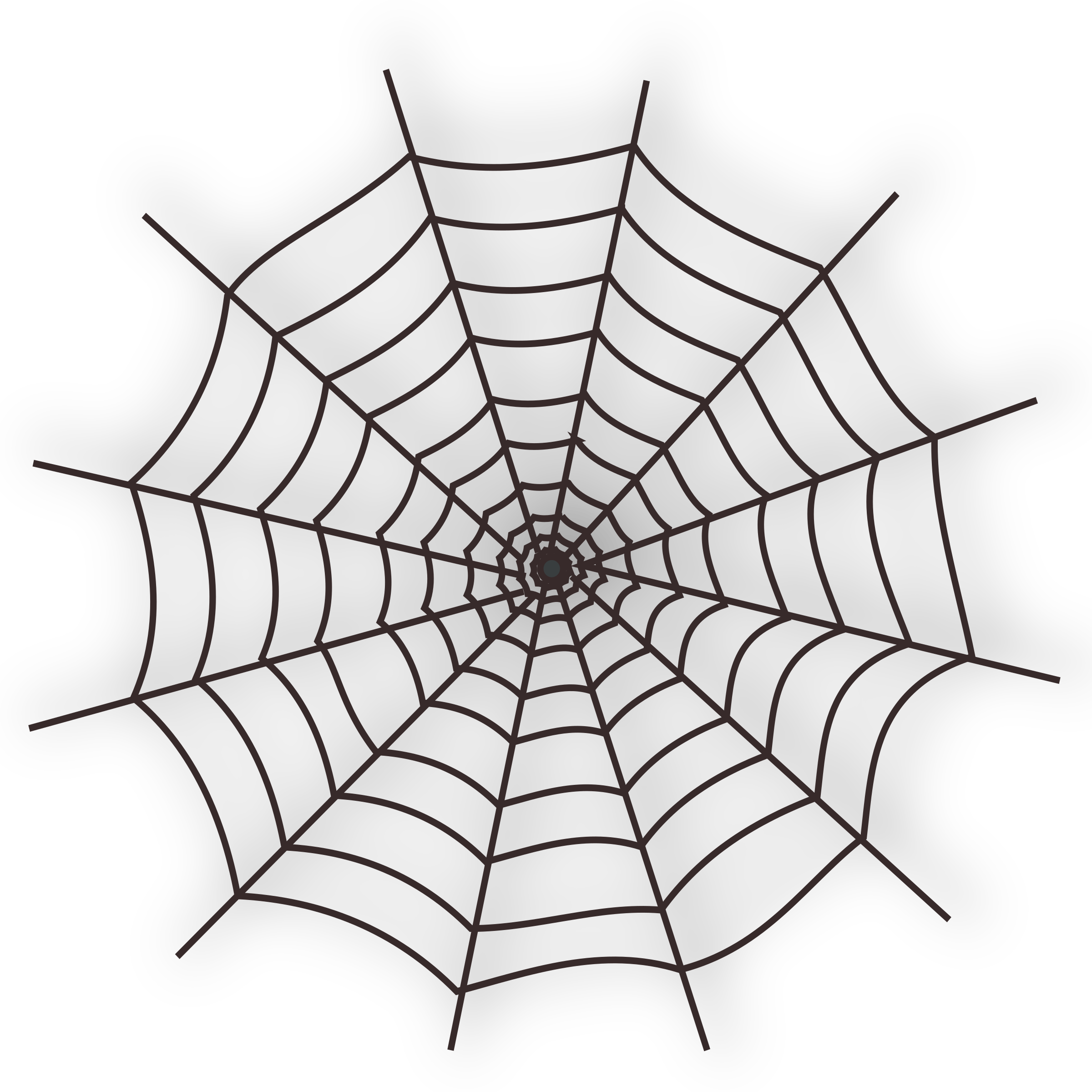 Halloween web icon big. Spider clipart symbol