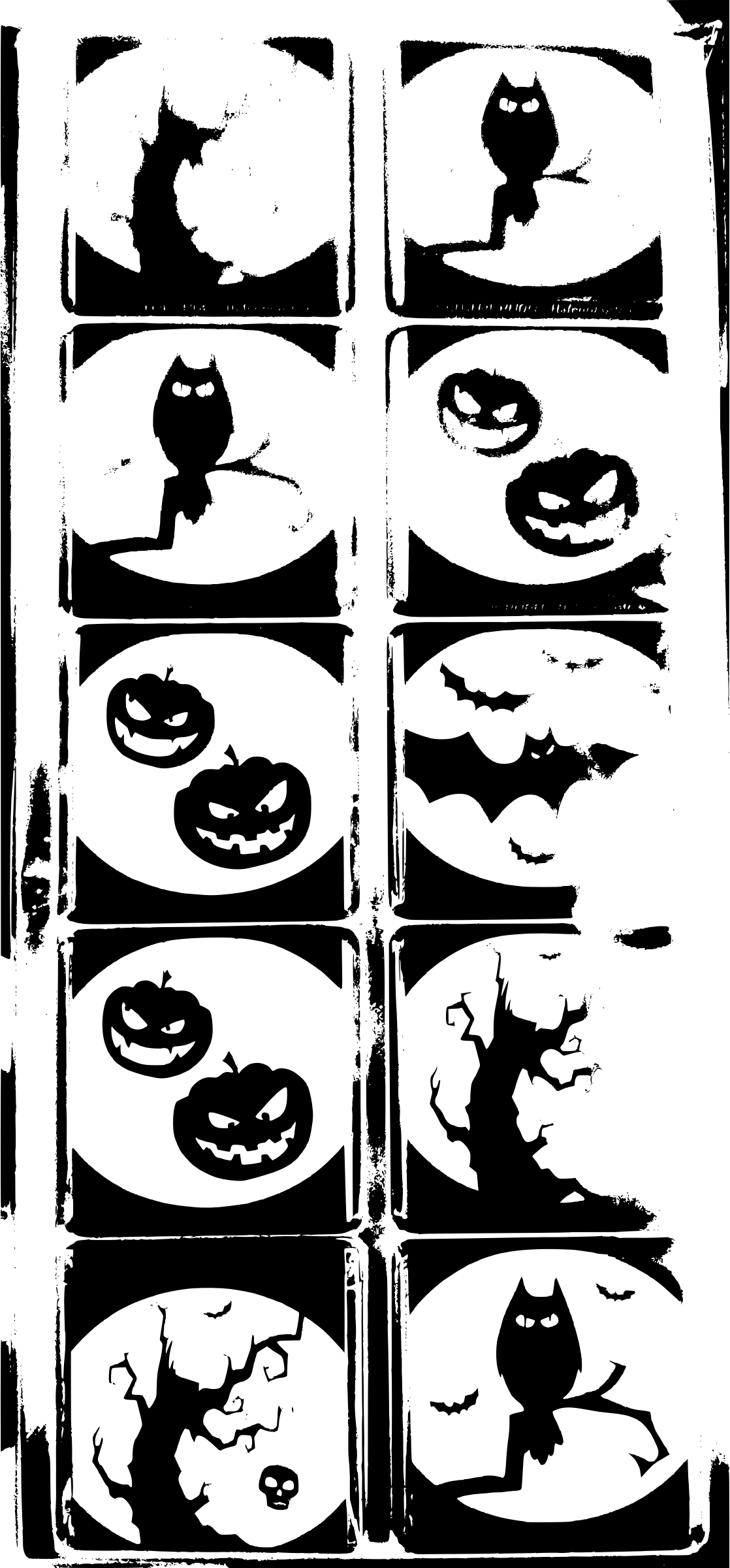 Clipart halloween symbol. Request help extract symbols