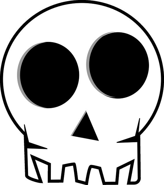 Clipart ruler gambar. Gratis di pixabay tengkorak