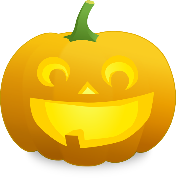 Clipart halloween tooth. Jack o lantern with