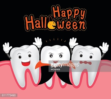 Happy of teeth and. Clipart halloween tooth