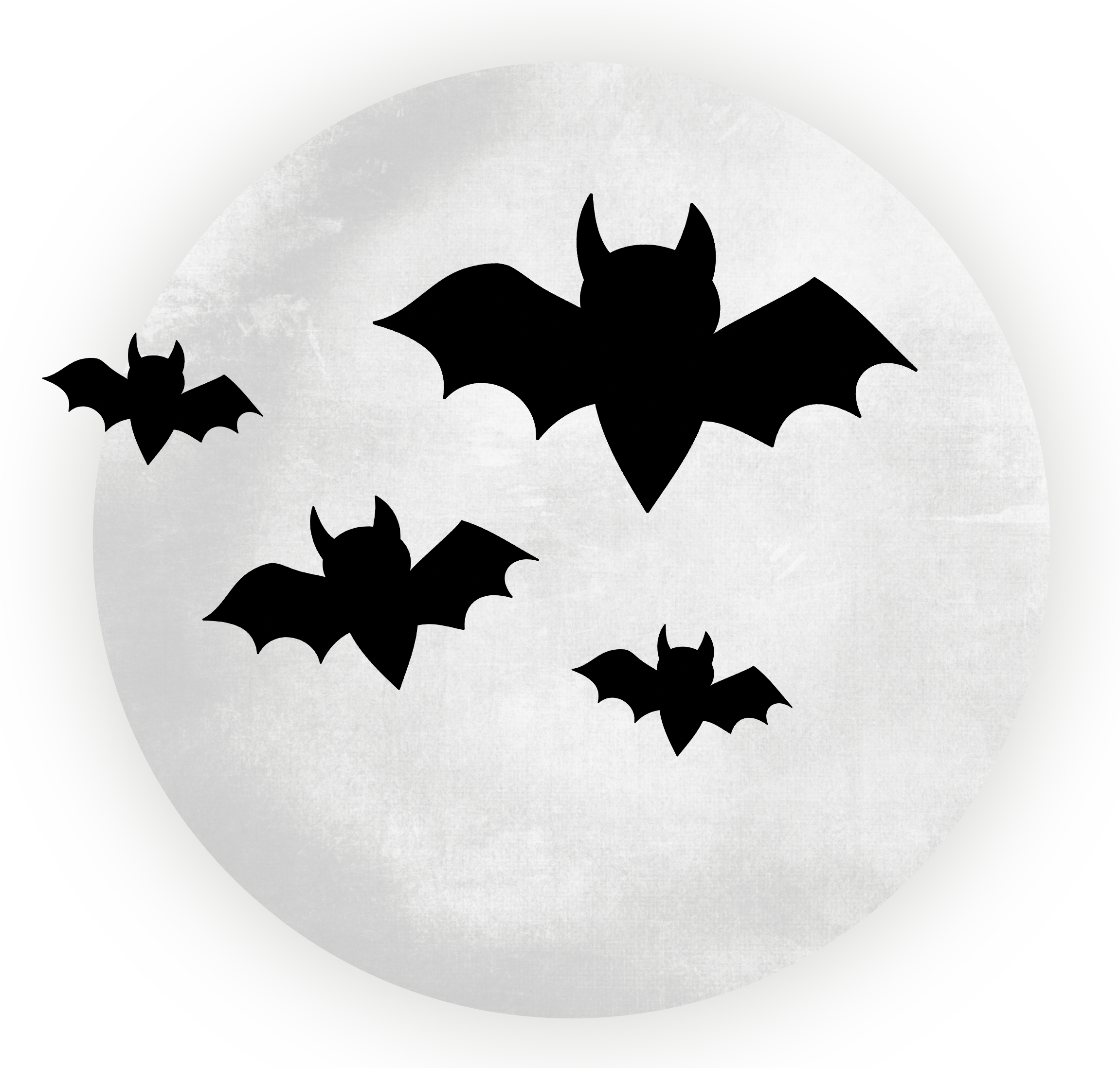 collection of bat. Clipart halloween transparent background