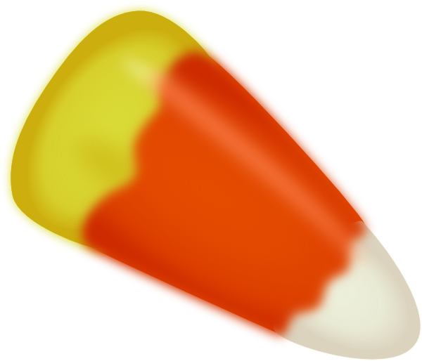 Candy corn clip art. Clipart halloween treat