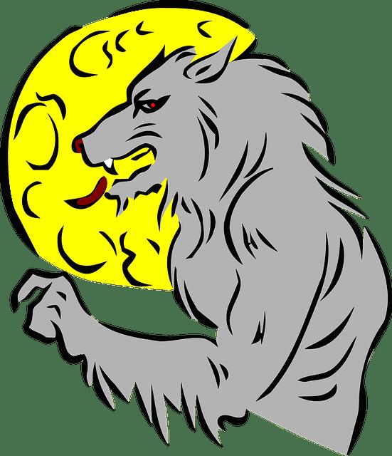 Jokes about werewolves fun. Vampire clipart werewolf